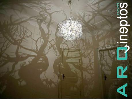 Lámpara bosque